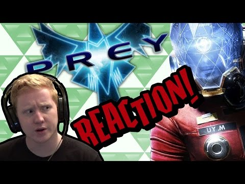 Prey - Gameplay Reveal - REACTION! - Hype Hideout