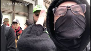 'Death is Coming': Seattle Antifa Protest Dec. 1, 2018