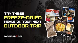 What Are The Bęst Freeze-Dried Food Brands For Camping And Hiking? (Part 1 of 2)