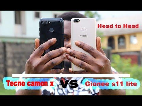 Tecno camon x vs Gionee s11 lite full comparison, Head to Head