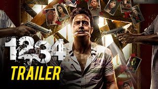 1234 | Official Trailer (HD) | Suspense Thriller | Sanjay Narvekar | Bhushan Pradhan | Marathi Movie