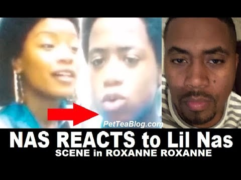 Nas Reacts to being Depicted in Roxanne Roxanne Movie 👀