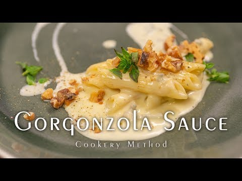 Gorgonzola Sauce - Simple & goes well with pasta/meat dishes, or as a cold dressing for salad -