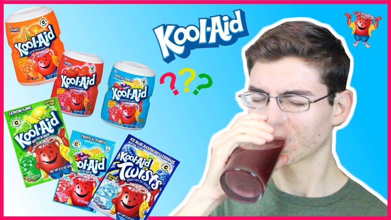 MIXING EVERY KOOL-AID FLAVOR TOGETHER! *taste test*