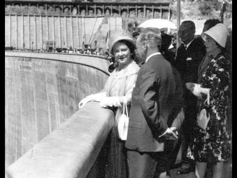 Opening of Kariba Dam 17 May 1960