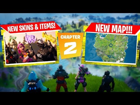 FORTNITE CHAPTER 2 PATCH NOTES!