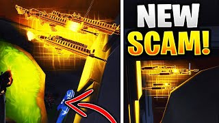 Arnaque NEW The Hole Of Death! (Scammer Obtient Scammed) Fortnite sauver le monde