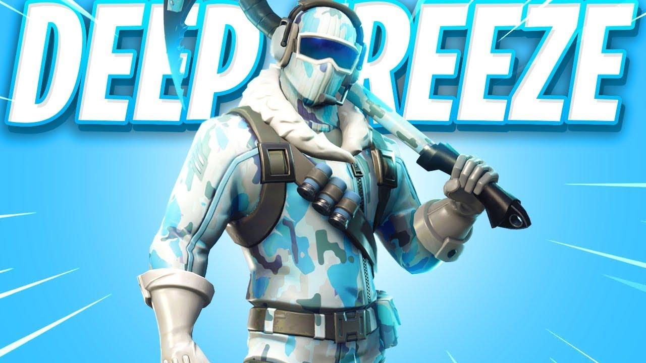The New Deep Freeze Skin Bundle In Fortnite Youtube