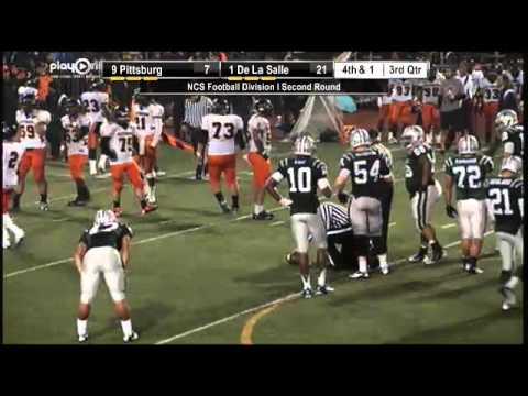 Football - Pittsburg vs. De La Salle