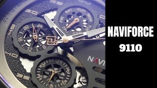 NAVIFORCE 9110 Unboxing And Review | Naviforce Luxury Watch | Luxury Watch Under 30 dollars