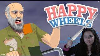 Me encanta lanzar espadas l Happy wheels 1