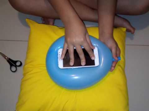Como fazer capinha de celular com bexiga