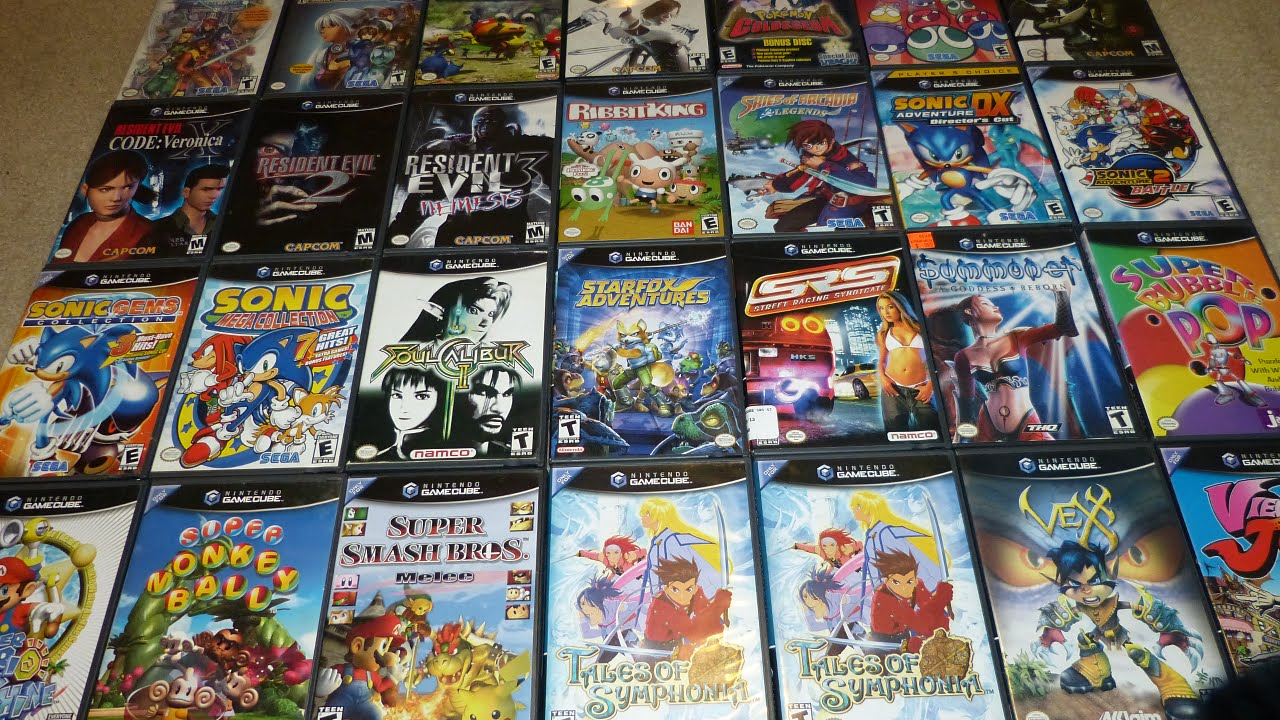 GameCube Collection Video - YouTube