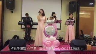 婚禮企劃樂團表演主持歌手音響投影器材  預約專線:0911552966 Sandy(亦...