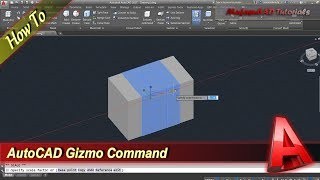 Autocad Tutorial How To Use Gizmo