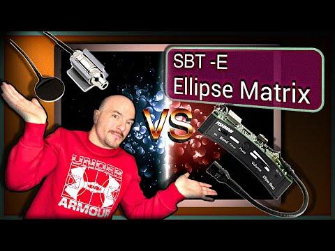 Fishman SBT-E Classical Guitar Pickup VS Ellipse Matrix Blend