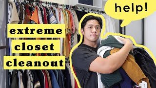 Extreme Closet Cleanout! (Ang hirap mag let go 😢)