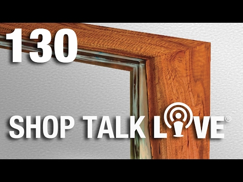 STL 130: Workbench advice and waterfall joinery
