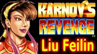Fighter's History Dynamite / Karnov's revenge | Arcade Liu Feilin Longplay