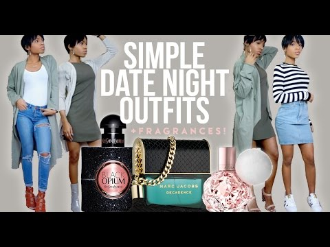Simple Date Night Outfits + Matching Fragrances! ▸ VICKYLOGAN