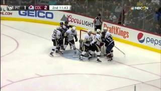 Pittsburgh Penguins at Colorado Avalanche 12 09 2015