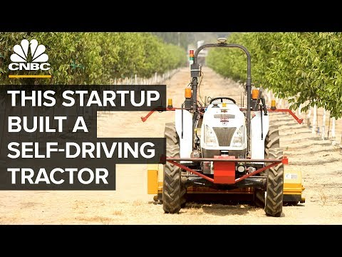 Bear Flag Robotics' New Autonomous Tractor
