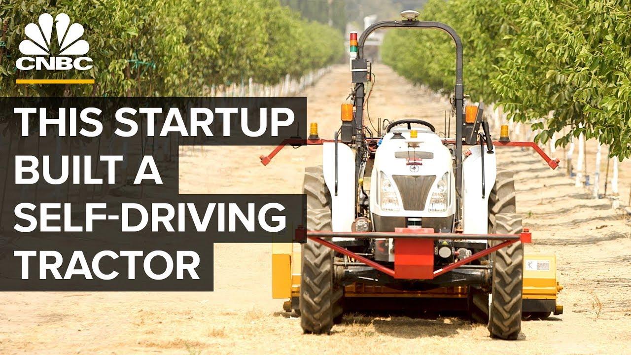 Bear Flag Robotics' New Autonomous Tractor