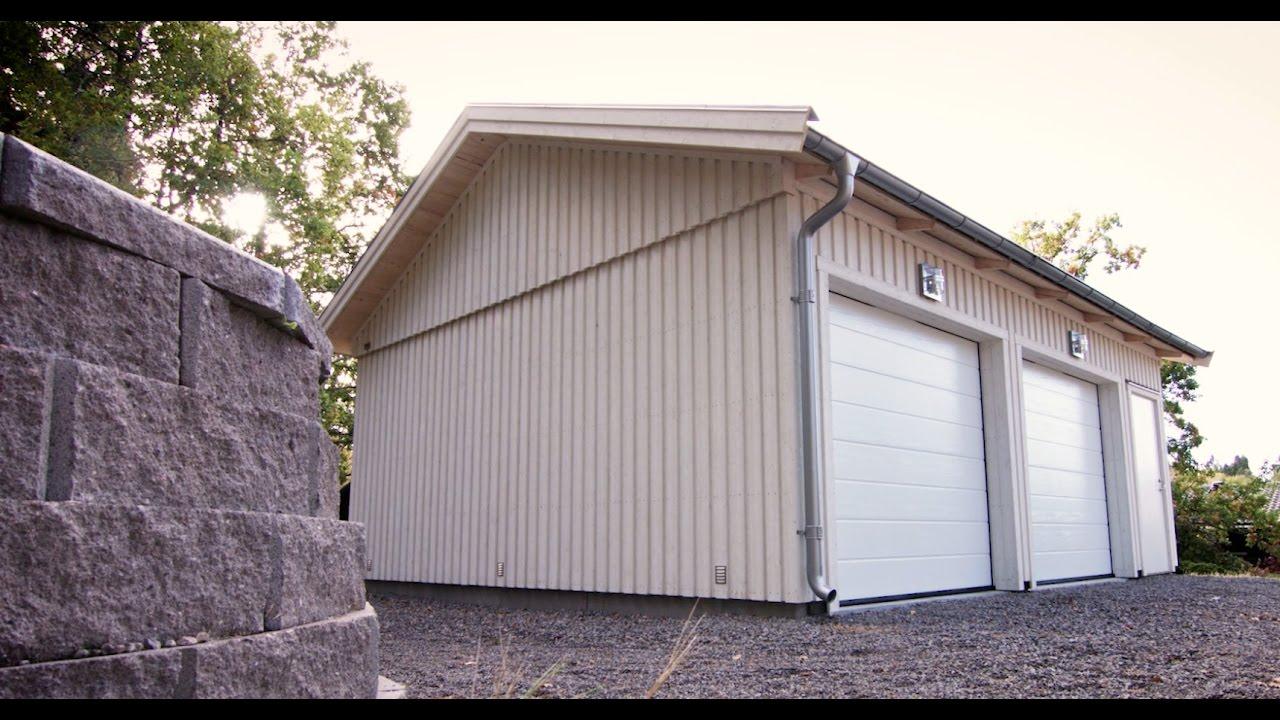 Inredning gjuta platta garage : Mellby Garage - Bygg ett riktigt garage - YouTube