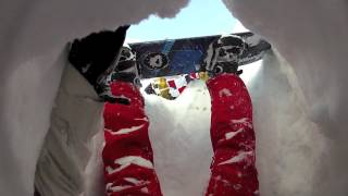 JACKSTAR AND PEGLEG - WHY YOU SHOULD NEVER RIDE A SNOWBOARD OFF PISTE ALONE