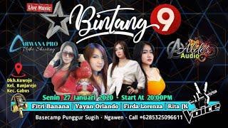 🔴🔵 Streaming BINTANG 9 Live Kuwojo-Banjarejo Kec.Gabus # ALDES Digital Audio - ARWANA Pro