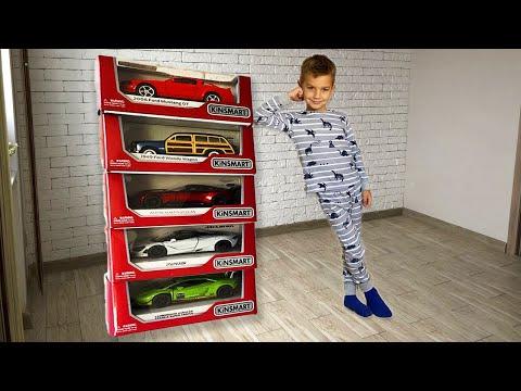 Марк помогает маме и получает подарки - Новые Машинки!