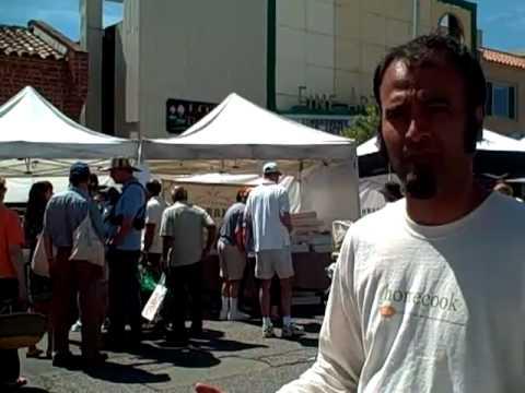 @homecookme at Palo Alto California Food Farmer's market