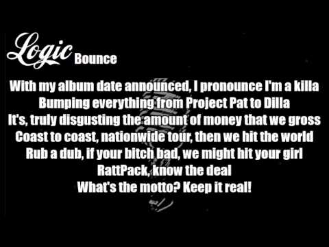Logic - Bounce Lyrics