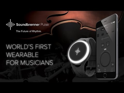The World's First Wearable for Musicians: Soundbrenner Pulse