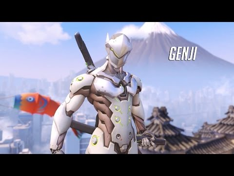 Overwatch - Genji Ability Overview Trailer