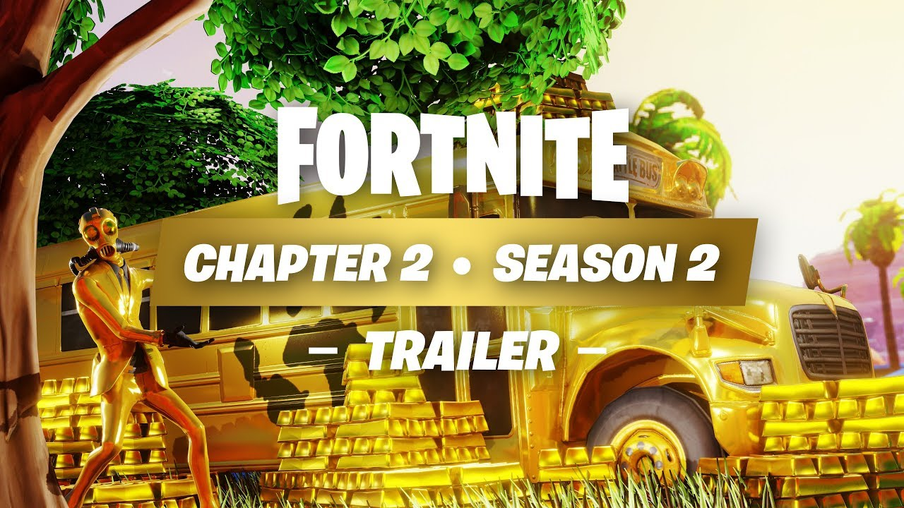 FORTNITE SEASON 2 CHAPTER 2 | LAUNCH TRAILER