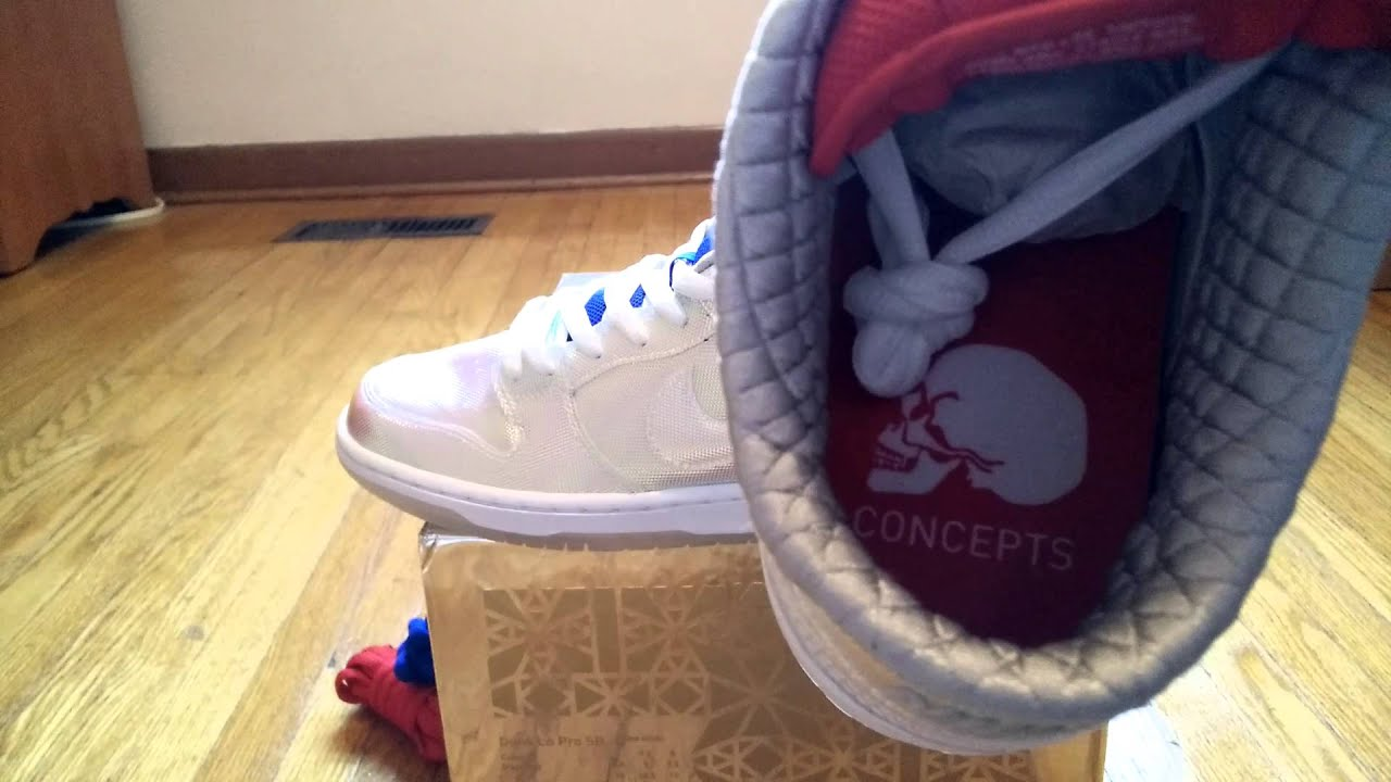 online store 8f08f fb67a Concepts x Nike SB - Holy Grail Review