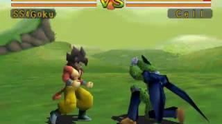 Classic Game - Dragon Ball GT Final Bout (PSX) : Play Battle as Super Saiyan 4 Goku