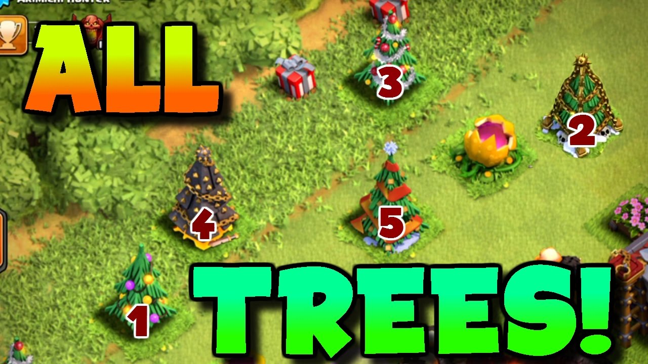 Clash Of Clans | THIS PLAYER HAS EVERY SINGLE CHRISTMAS ...
