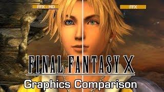 Final Fantasy X HD - Graphics Comparison