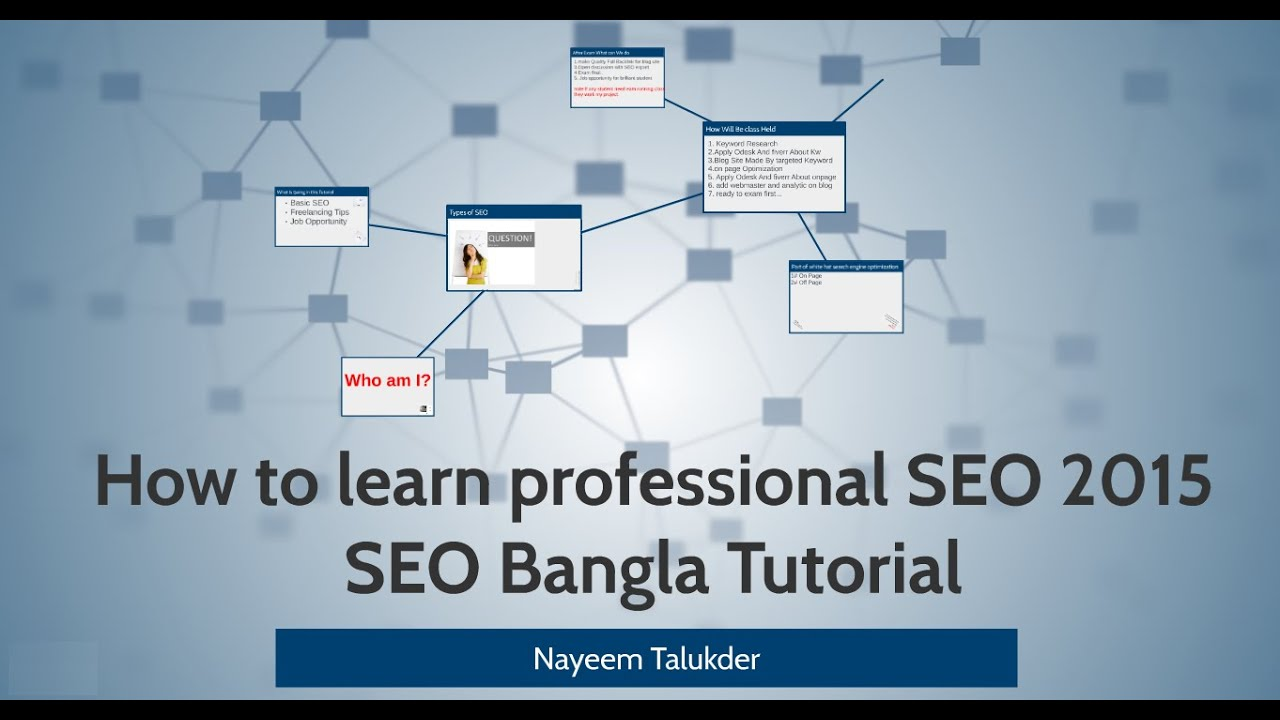 google seo tutorial