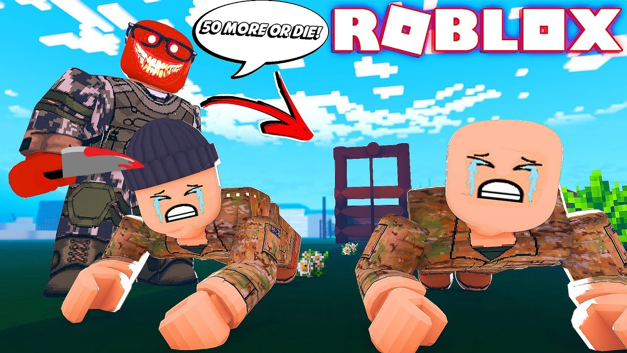 Boot Camp Roblox Game I M Finally The Monster In Roblox Camping Bootcamp Youtube