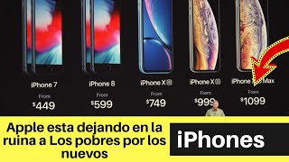 Apple esta dejando en la ruina a Los pobres por nuevo iPhones - Bien Caro