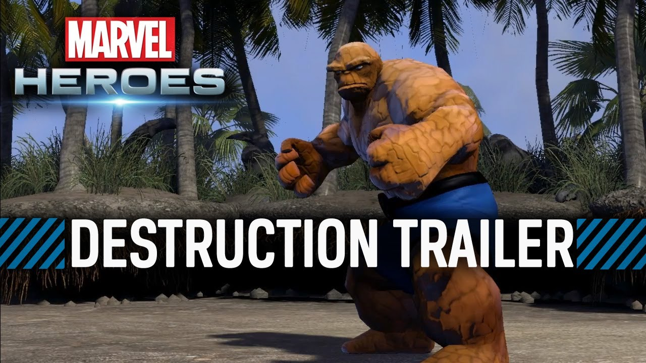 Marvel Heroes Destruction Trailer