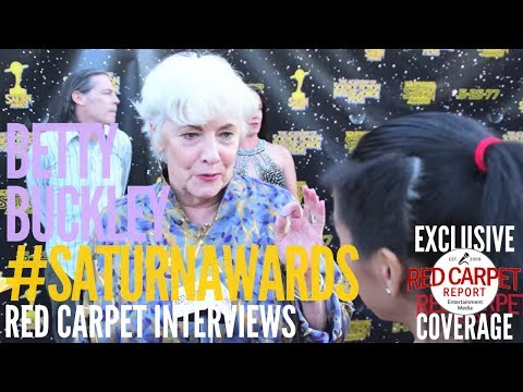 Betty Buckley #Split interviewed at the 43rd Annual Saturn Awards #SaturnAwards