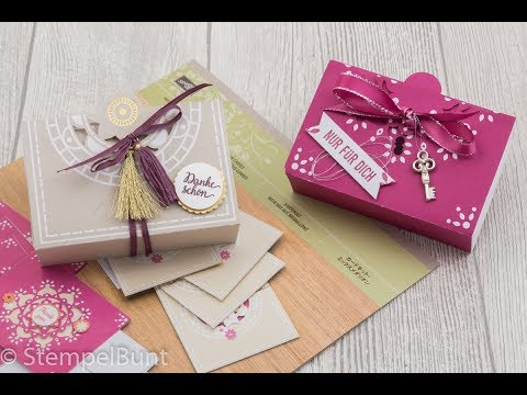 "Orient-Box ""Mix aus Medaillons"" mit Stampin'Up!®"