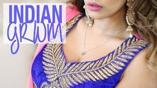 Tutorial | Indian GRWM Hair & Makeup | Kaushal Beauty