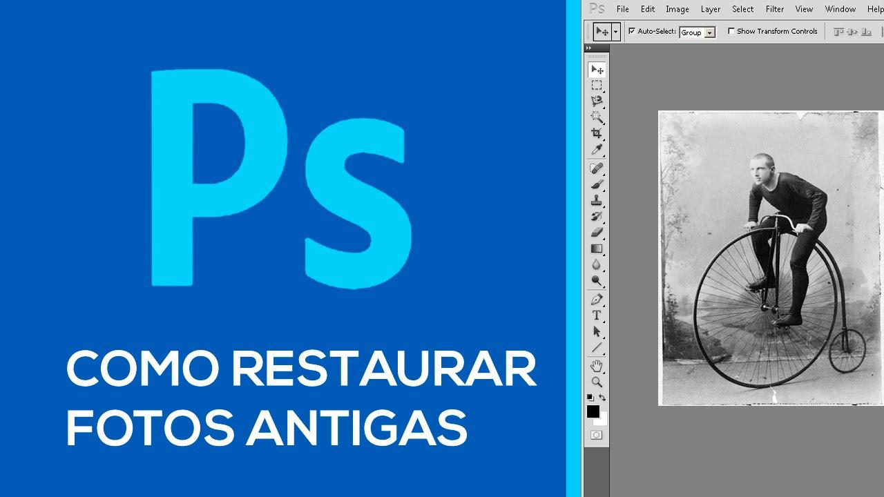 TomaZoom: Restaurar fotografias deterioradas con Photoscape