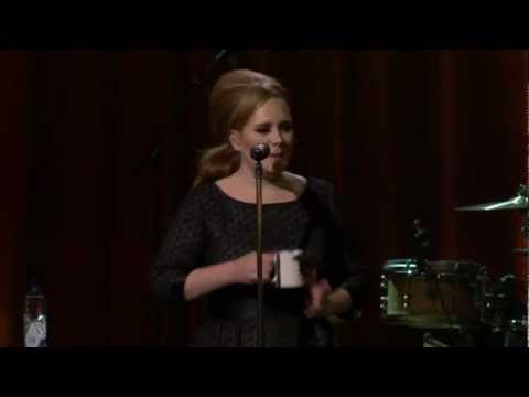 """Adele """"Rolling in the deep"""" live at he royal albert hall"""