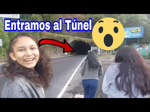 Lo que hay dentro del Túnel que atraviesa una Carretera en Guatemala😱 Tunel Santa María Xela.